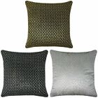"Jasmine Sequin Cushion Cover Luxury Embroidered Bling Cushion Covers 18"" x 18"""