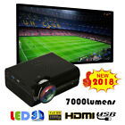 Mini 1080P Full HD LED Projector 16:9 Home Cinema Theater HDMI VGA USB AV&TV SD
