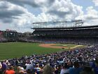 (4) Chicago Cubs Tickets vs Brewers 4/27/18 Sec 202 Lowers NO POLES