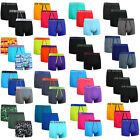 3,6,12 Packs Mens Boxer Cotton Rich Shorts Underwear Trunks Gifts New Size S-XL