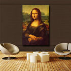 "Leonardo Da Vinci ""Mona Lisa Smile"" HD print on canvas huge wall picture (31x47)"