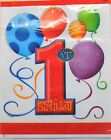 First Birthday Balloons or Butterfly Party - Invites Napkins Banner Table Cover