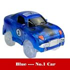 US Electronics Special Car For Magic Track Toys With Flashing Lights Educational