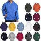 MEN'S RELAXED/ROOMY FIT, MID-WEIGHT, PULLOVER, BASIC HOODIE, PRESHRUNK, S-4XL