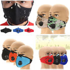 PM2.5 Riding Mask Gas Filter Protection Face Dust Mask Head Respirator 4 Stytle