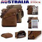 Men's Vintage Canvas Satchel School Military Shoulder Bag Messenger Man's Bag