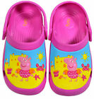 Girls New Peppa Pig Crocs Clogs Cerise Pink Sandals Kids Shoes SizeUK 6 7 8 9 10