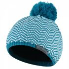 Dare2b Kids Ingenuity Chevron Knit Fleece Lined Beanie White