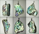 BRAND NEW - Paua Shell Pendant / Necklace (New Zealand)