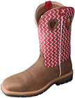 Twisted X Men's Distressed Lite Cowboy Boot - Cherry