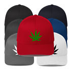 Cannabis Marijuana Leaf tear adjustable Unisex Baseball Cap Hat