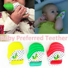 1PC Baby's Gum Glove Molar Teether Gloves Food Grade Silicone Non-toxic Hot