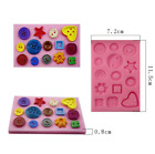 Silicone Fondant Mold Cake Decorating DIY Chocolate Sugarcraft Baking Mould Tool