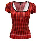 D6034 maglia donna CUSTO BARCELONA SLIM FIT t-shirt woman