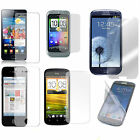 CLEAR LCD SCREEN PROTECTOR GUARD FILM COVER FOR VARIOUS MOBILE PHONES