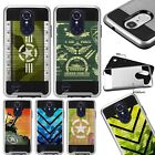 For LG Aristo / K20 / Stylo 3 Hybrid Phone Case Cover Metaguard A1