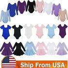Внешний вид - US Kid Girls Ballet Dance Dress Gym Ballerina Stretchy Leotard Dancewear Costume