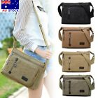 Retro Men's Canvas Shoulder Messenger Bag Crossbody Satchel Man's Bags Travel