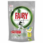 FAIRY Platinum All In One Lemon Dishwasher 1 x 50 Capsules (1, 2 ,4 Pack)