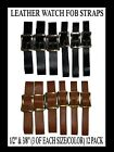black fob watch - WATCH FOB STRAPS! ALL SIZES BLACK & BROWN MIX N MATCH . NEW