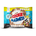 Cookie Madness High Protein Cookies - 2 Cookies per Pack & 12 Packs Per Box