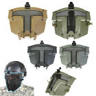 Tactical Airsoft SPT Steel Mesh Full Face Mask CS Protection AF Helmet Mask