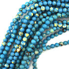 Synthetic Turquoise Blue Sea Sediment Jasper Round Beads 4mm 6mm 8mm 10mm 12mm