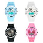 Skmei Dual Time Digital Women Sports Jelly Military 3ATM Waterproof Wristwatches