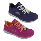 Girls Shoes Slazenger Bolt Trainer Pink or Purple Lace up Light Size 10-5 New
