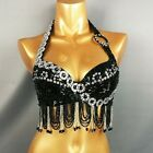 New belly dance costumes senior bra belly dancing clothes Bead Sequins tops BAR