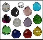 Crystal BALL 30mm Clear Lilac Pink VIOLET Blue Green Lemon BLACK Red Suncatcher