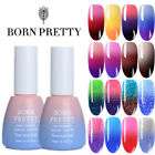BORN PRETTY Nail UV Gel Polish Thermal Color Changing Glitte