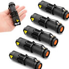 LOTS Wholesales Mini 7W 8000Lm Adjustable LED Flashlight Torch Lamp Zoom Light
