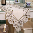 Внешний вид - Table Runner Ployester Lace Embroidered Floral Table Cover Runners Home Textile