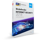 Bitdefender Internet Security 2018 for Windows | 1 & 3 Years | Activated Account