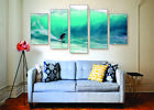 small beach home - Big Wave Surfing Canvas Print Set - Ready To Hang Beach Wall Art Home Decor