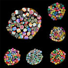 DIY 3D Nail Art Fimo Canes Stick Rod Polymer Clay Stickers Tips Decoration BB