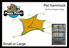 FERRET - EXTRA HAMMOCK FOR FERRET KINGDOM & JUNIOR CAGES, SMALL OR LARGE