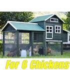 X-Large Chicken Coop Rabbit Guinea Pig Hutch Ferret Hen Cage House