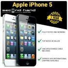Apple Iphone 5 - 16gb 32gb 64gb - White/black - (unlocked/sim Free)