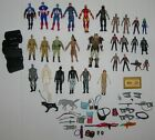 Lot of Action Figures Figures Weapons Parts Marvel GI Joe + More