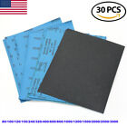Wet Dry Sandpaper Sheets 9 x11'' 80-3000Grit for Metal Sanding Automotive Polish