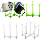 2pk Small Collapsible Plastic Kitchen Dish Drying Racks For Cups, Mugs & Bottles