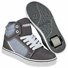 Heelys Uptown Wheeled Roller Shoe - Black / Charcoal / White  + Free DVD
