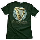 Bottle Guinness Harp Celtic Circle Tee Shirt