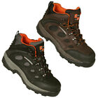 Mens Boulder Steel Toe Waterproof Safety Ankle Work Boots Shoes Mens Size