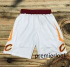Cleveland Cavaliers White Men's Basketball Shorts NWT