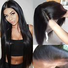 lace front wigs for black hair - 4*4 Silk Base Human Hair Wigs Remi Indian 360 Full Lace Wig Black for Women nme3
