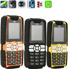 GSM Unlocked Dual SIM Long Standby Mobile Phone Cellphone W/Cam Torch Waterproof