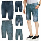Mens Denim Chino shorts Cargo Combat Summer Cotton Casual Designer Half Pant New